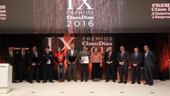 Blendhub, Emite Ingeniería and NH Hoteles win the Cinco Días Awards for Business Innovation