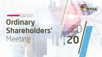 PRISA to hold its Ordinary Shareholders' Meeting on June 29