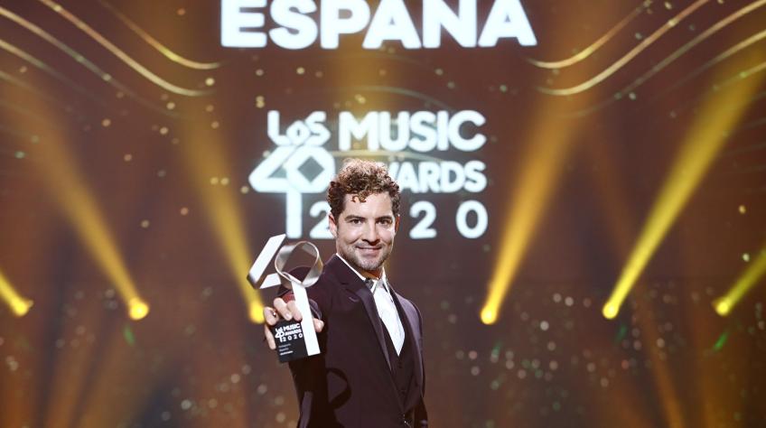 Maluma Dua Lipa Y David Bisbal Triunfadores De La Noche De Los40 Music Awards Con Dos Galardones Cada Uno Prisa
